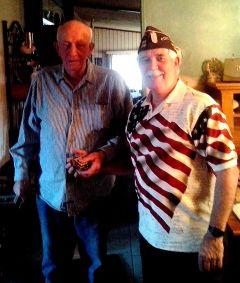 65 Year Pin Gerald Whitey Clark